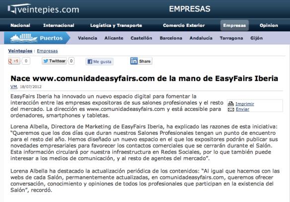 easyfairs iberia, salones, ferias Madrid
