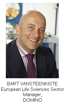 BART VANSTEENKISTE European Life Sciences Sector Manager, DOMINO