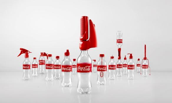 Coca-cola crea 16 tapones locos para fomentar la sostenibilidad del packaging