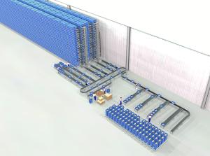 DEMATIC implanta su tecnología avanzada de Multishuttle para la automatización del Centro Logisticos más moderno y avanzado para la gestión y el suministro del material hospitalario para el Servicio Gallego de Salud en la empresa Servicio Móvil