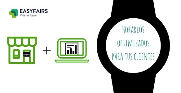Horarios optimizados para tus clientes
