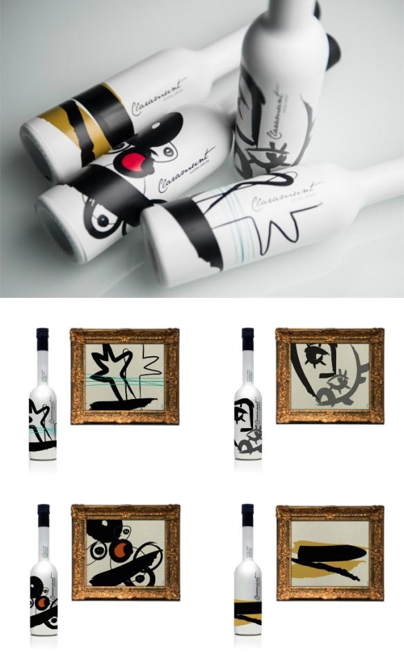 Diseños de aceite Claramunt por Isabel Cabello.