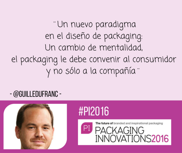 Guillermo Dufranc sobre su taller de innovación en Packaging Innovations Madrid 2016