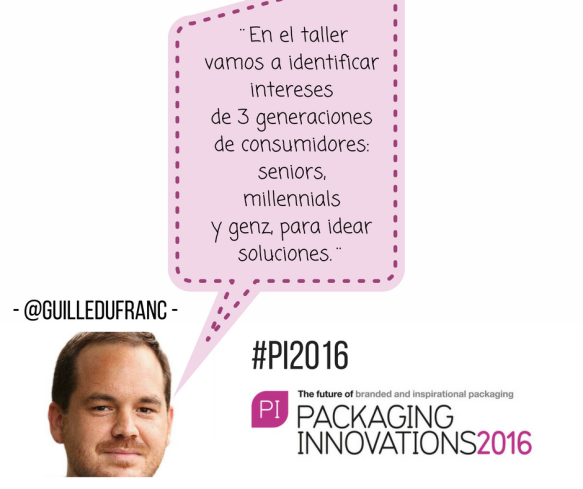 Guillermo Dufranc impartirá taller de innovación en Packaging Innovations Madrid 2016