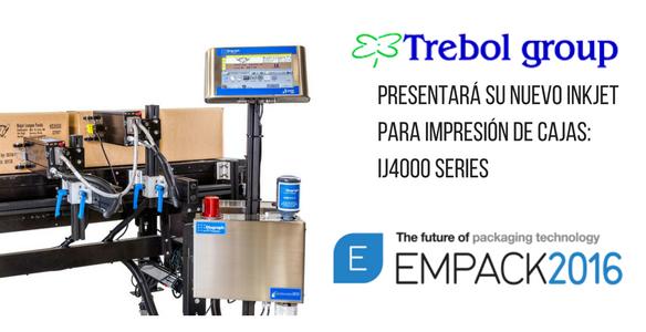 Trebol Group presentará en Empack su nuevo inkjet para impresión de cajas: IJ4000 SERIES