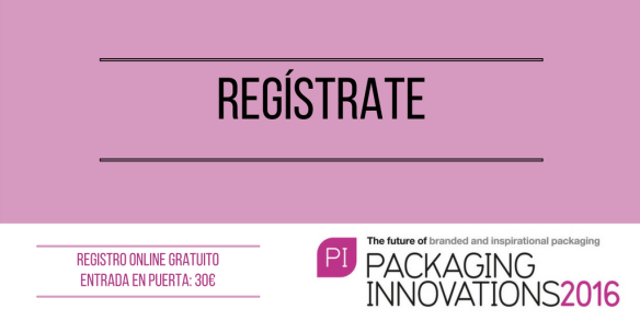 Regístrate para asistir a Packaging Innovations 2016