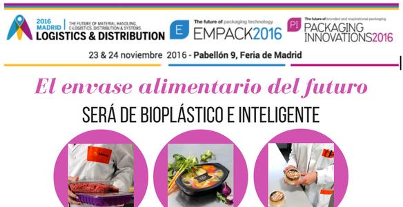 El envase alimentario del futuro será de bioplástico e inteligente