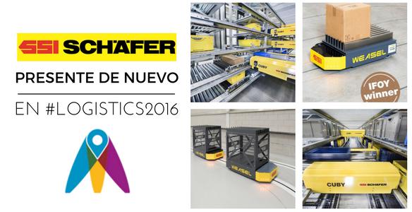 SSI Schaefer presente de nuevo en Logistics Madrid con su lema 'Let's talk'
