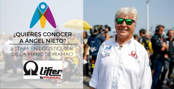 ¿Quieres conocer a Ángel Nieto? ¡Estará en Logistics 2016 de la mano de Pramac!