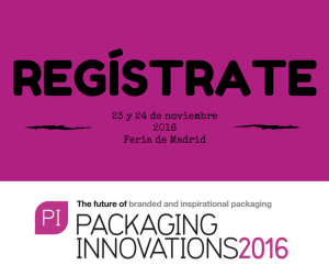 Regístrate y ve a Packaging Innovations 2016