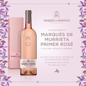 "Marqués de Murrieta Primer Rosé ""La última joya de la bodega"", de Verallia."