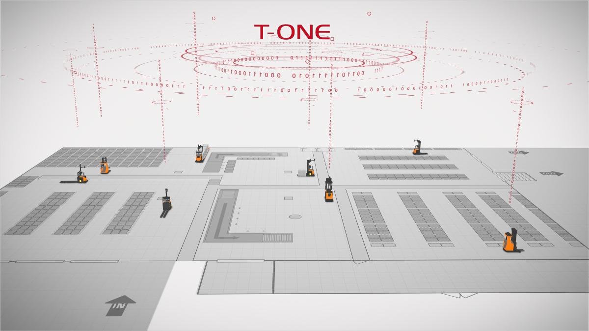 Toyota presenta su nuevo software de automatización inteligente AGV T-ONE