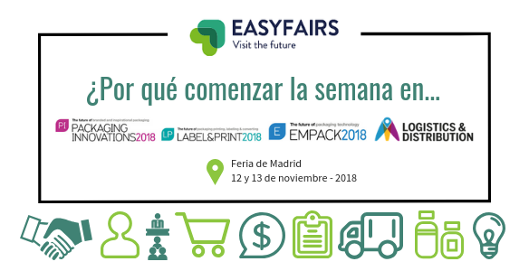 Logistics, Empack y Packaging Innovations 2018